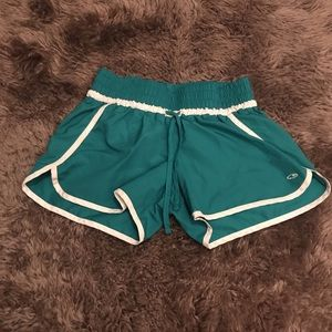 Champion running short